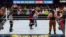 The Undertaker & Kane & Brock Lesnar VS The Wyatt Family | New Member Brock Lesnar | WWE 2