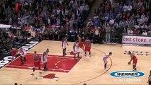 Derrick Rose dunk vs New York Knicks (Stacey King call)