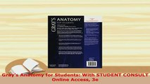 PDF  Grays Anatomy for Students With STUDENT CONSULT Online Access 3e Download Online