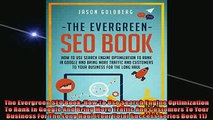 EBOOK ONLINE  The Evergreen SEO Book How To Use Search Engine Optimization To Rank In Google And Bring  DOWNLOAD ONLINE