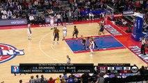 LeBron James Vintage Dunk _ Cavaliers vs Pistons _ Game 4 _ April 24, 2016 _ 2016 NBA Playoffs