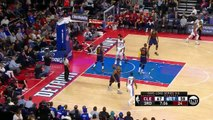 LeBron James Airballs a Shot _ Cavaliers vs Pistons _ Game 4 _ April 24, 2016 _ 2016 NBA Playoffs