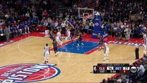 LeBron James Finishes In Transition _ Cavaliers vs Pistons _ Game 4 _ April 24, 2016 _ NBA Playoffs
