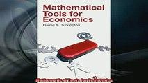 Downlaod Full PDF Free  Mathematical Tools for Economics Full EBook