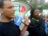 Les Sans-Papiers en lutte - Marche vers l'Agora