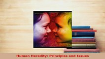 Download  Human Heredity Principles and Issues Download Online