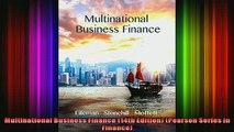 DOWNLOAD FULL EBOOK  Multinational Business Finance 14th Edition Pearson Series in Finance Full EBook