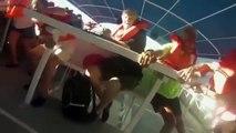 Un catamaran de touristes chavire et coule au large du Costa Rica