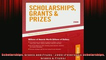 Free PDF Downlaod  Scholarships Grants and Prizes  2009 Petersons Scholarships Grants  Prizes  DOWNLOAD ONLINE