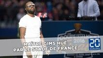 Maître Gims hué par le Stade de France lors de la finale de la Coupe de la Ligue