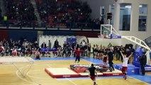 Farthest forward flip trampoline slam dunk - Guinness World Records
