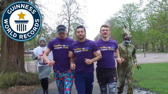 London Marathon 2016 - Five runners talk about their world record attempts - Guinness World Records