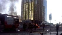 Incendio autos Buenos Aires Capital Federal