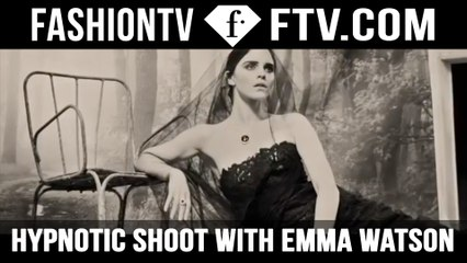Behind The Scenes Emma Watson For Vogue Italia | FTV.com