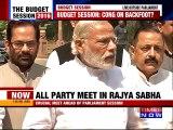 PM Narendra Modi Hopes for Productive Budget session