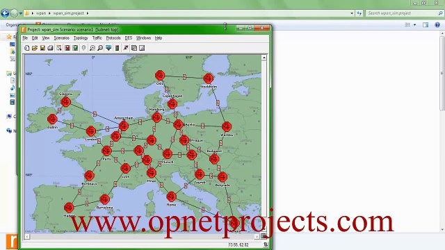 LEARNING OPNET output