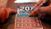 20x the money pa lottery scratch off ticket winner
