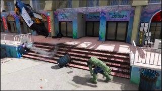 Zoom VS  Hulk Battle #2 (GTA 5 Mods Funny Moments) Watch online Tv Show