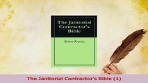 PDF  The Janitorial Contractors Bible 1 Download Full Ebook