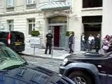 Sortie des Tokio Hotel - hotel PARIS - 16.06.07