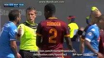 Napoli 1st BIG Chance Roma 0-0 Napoli Serie A