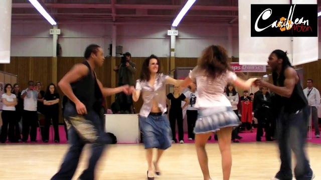 2009 - Extrait show Salsa Cubaine mix Afro Cubain avec entre autre Vaïni & Jean-Claude Occo
