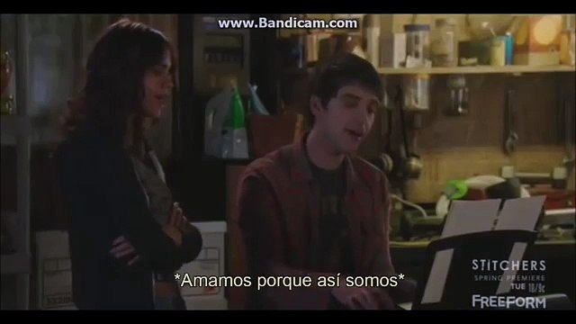 The Fosters 3x19 Brandon/Callie Scenes