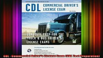 READ book  CDL  Commercial Drivers License Exam CDL Test Preparation Full EBook