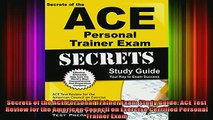 DOWNLOAD FREE Ebooks  Secrets of the ACE Personal Trainer Exam Study Guide ACE Test Review for the American Full EBook