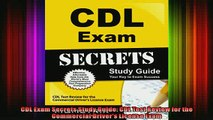 READ book  CDL Exam Secrets Study Guide CDL Test Review for the Commercial Drivers License Exam Full Free