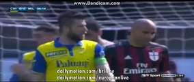 GOAAAL - Verona 1-0 Milan Serie A 25.04.16