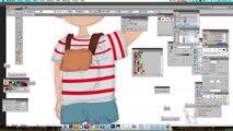 école digital painting Vidéo Speed art Speed drawing speed painting