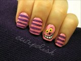 Cheshire Cat Nails (Theyre actually FUZZY!)