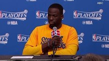 Draymond Green Goes off On Reporter Who Compared Warriors To Houston Floods!