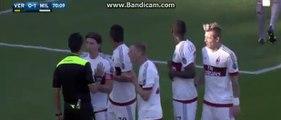 Penalty for Verona -  Verona 1-1 Milan 25-04-2016