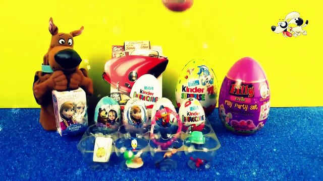 Kinder Surprise Eggs: Thomas and friends, Disney Cars, Peppa Pig, Mickey Mouse Fun for kids Video!
