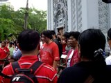 Red Sunday Activists  Sang the national anthem of Thailand. Sang the national anthem of Thailand.
