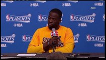 GREEN ON FLOODS -  Reporter Who Asked Draymond Green That Odd Question About The Houston Floods Gets Fired
