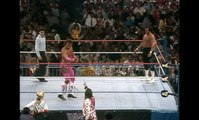 WWE WrestleMania 4 - The Honky Tonk Man vs. Brutus Beefcake