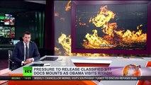 Vidéo – Une rivière en feu pour dénoncer la fracturation hydraulique !