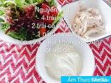Cách Làm Salad Ức Gà Sốt Sữa Chua chuẩn ngon nhất -  - hoc nau an