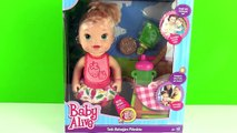 Baby Alive Tatlı Bebeğim Piknikte Oyuncak Bebek