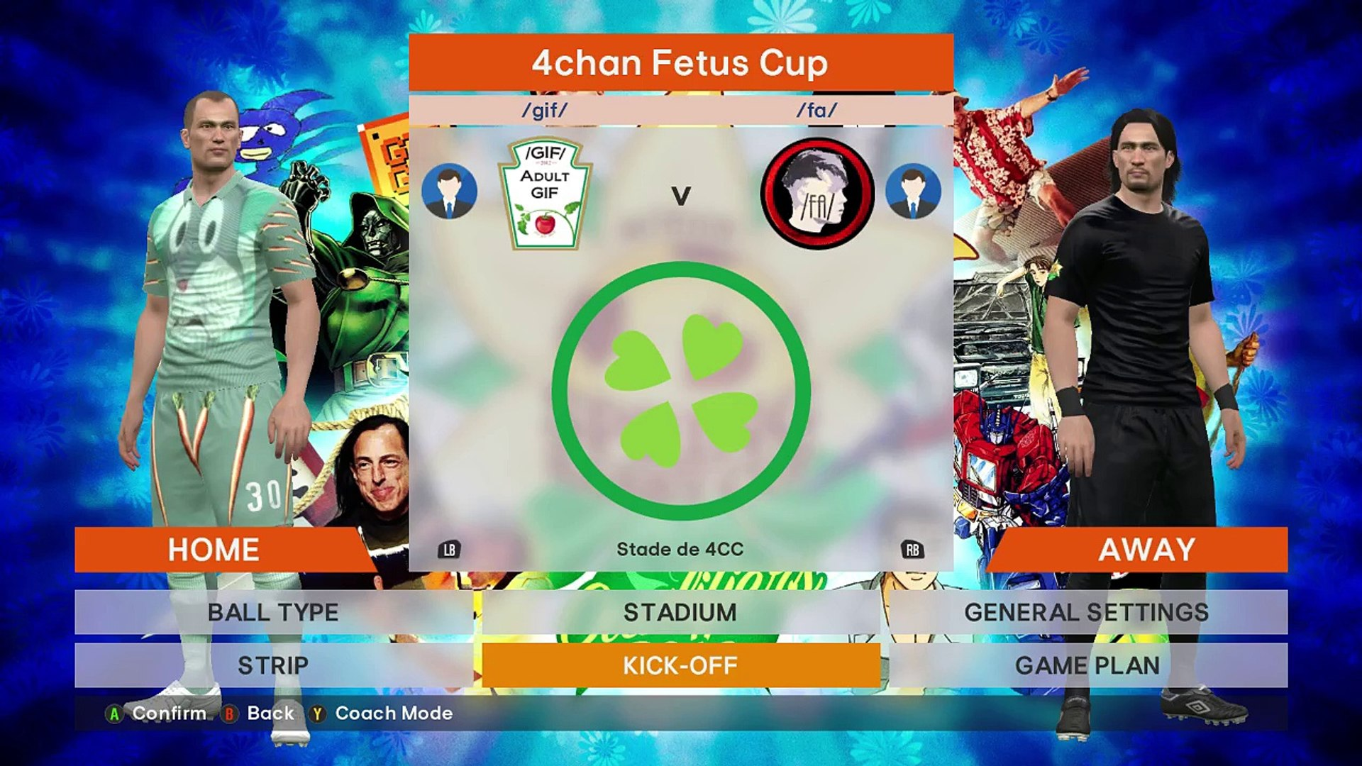4Chan Gif 2016 4chan spring babby cup qualifiers group a - /gif/ vs /fa/