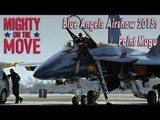 We went behind-the-scenes at an air show headlined by the Navy's elite Blue Angels