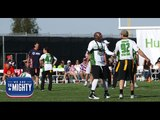 Watch these wounded warriors take on NFL alums in the 'Super Bowl' of flag football