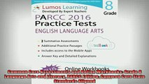 READ book  Common Core Assessments and Online Workbooks Grade 8 Language Arts and Literacy PARCC Full EBook
