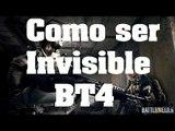 Trucos de Battlefield 4 - Como ser invisible facilmente - Claves, mejores trucos, cheats