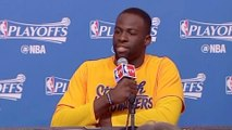 Draymond Green Goes OFF On Reporter For Houston Floods Question