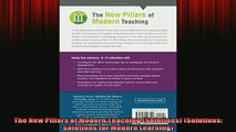 DOWNLOAD FREE Ebooks  The New Pillars of Modern Teaching Solutions Solutions Solutions for Modern Learning Full EBook