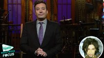 Jimmy Fallon Tears Up During 'SNL' Prince Special